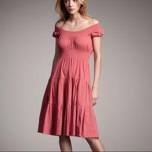 Theory Rose Haldena Crunch Dress